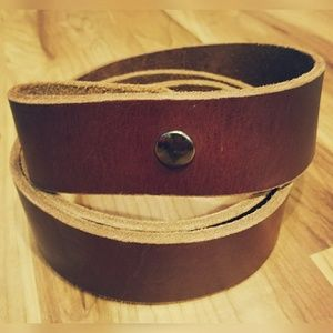 Other - Perfect, brown, leather belt!!